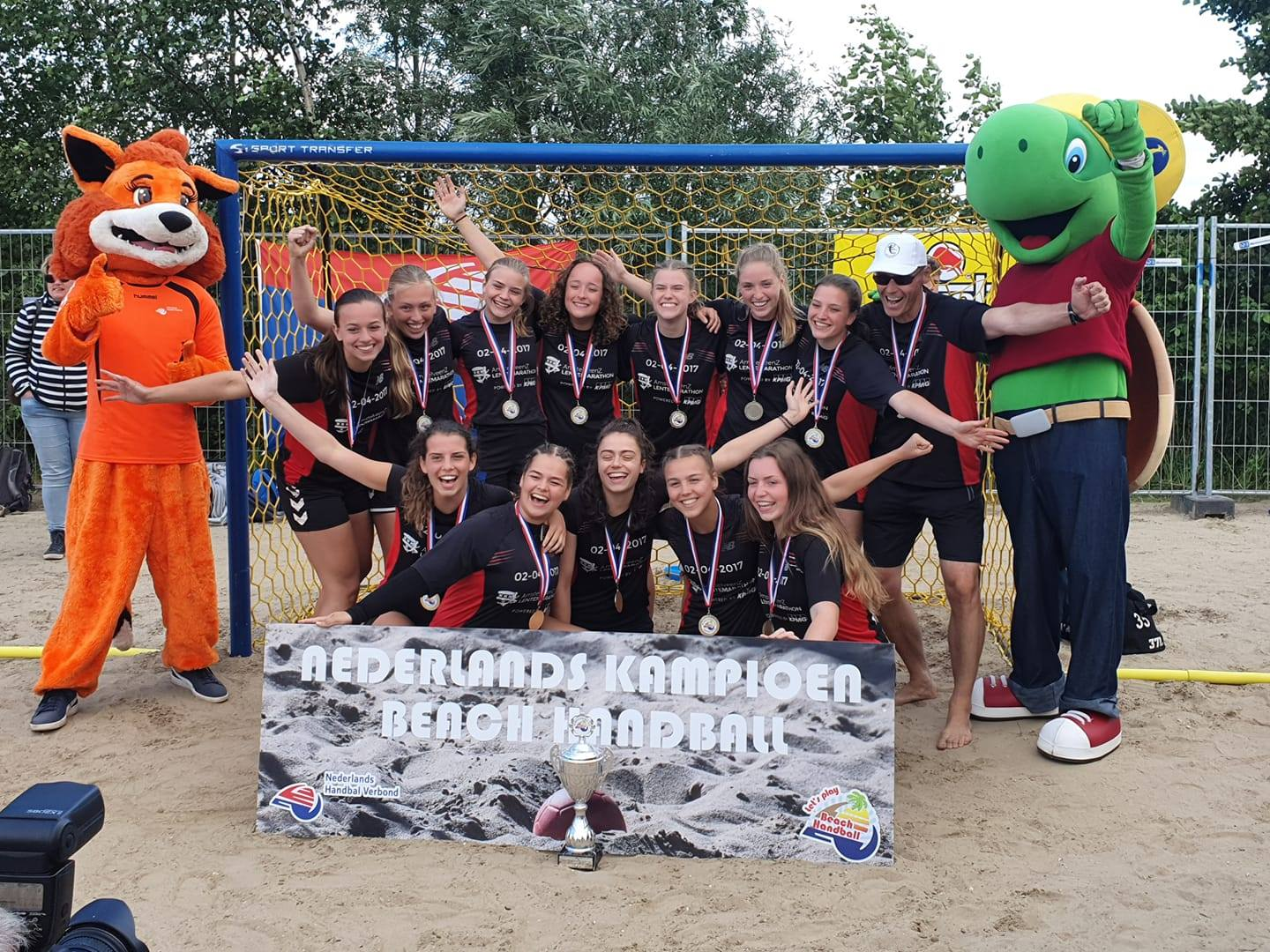 Beach Even Anders Nederlands Kampioen bij de Dames A